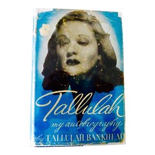Tallulah, My Autobiography Book For Sale