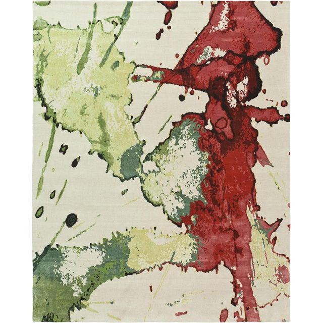 Contemporary ModernArt - Vino Rug (4x6) For Sale - Image 3 of 3