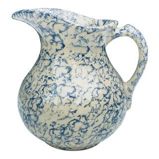 Vintage Roseville Pottery Water Pitcher For Sale