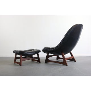 Mid Century Modern Scoop Lounge Chair and Ottoman by Adrian Pearsall for Craft Preview