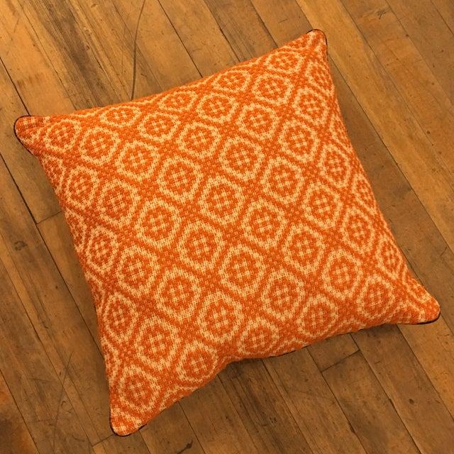 Orange Italian Artisan Pillow - Image 2 of 3