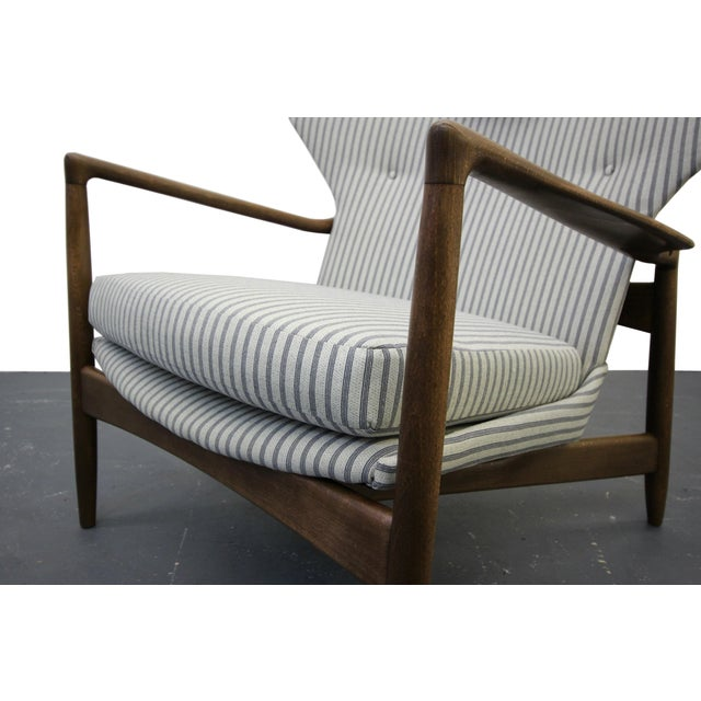 Mid Century Danish Wingback Lounge Chair by IB Kofod-Larsen - Image 7 of 9