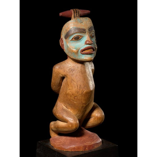 Shaman Figure of a Bound Witch, Late 19th Century For Sale - Image 4 of 4