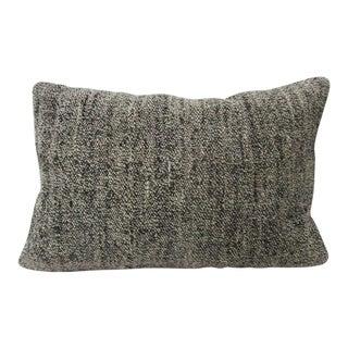 Gray Vintage Kilim Pillow For Sale