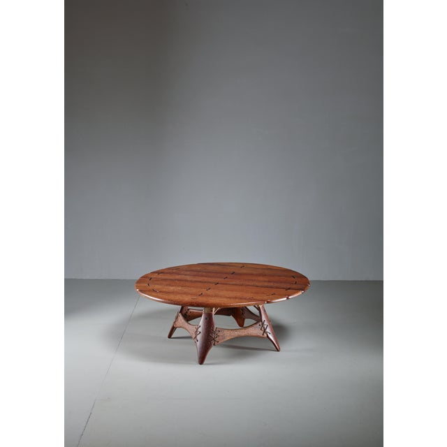 Studio Crafted Palmwood Coffee Table, Australia For Sale - Image 6 of 6