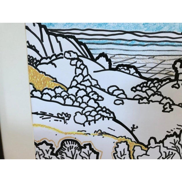 James McCray Framed Landscape Watercolor by James McCray #9 For Sale - Image 4 of 7