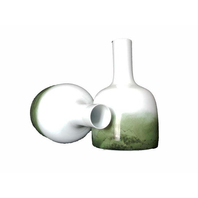 Celadon Chinese Glazed Vases - A Pair - Image 8 of 8