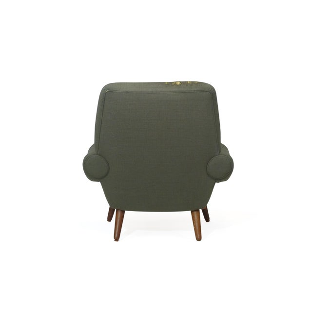 Kurt Ostervig Danish Lounge Chair for Custom Upholstery For Sale In San Francisco - Image 6 of 8