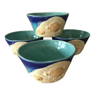 Seashell Nautical Bowls - Set of 4 For Sale