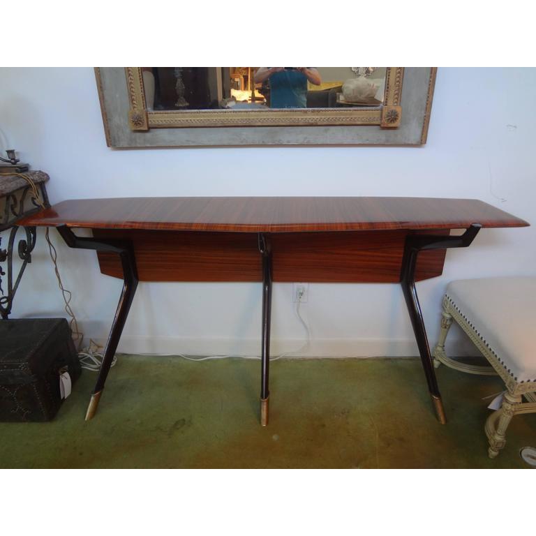 1950 S Italian Mid Century Modern Console Table Chairish