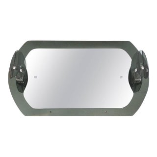 20th Century Fontana Arte Lighted Mirror For Sale