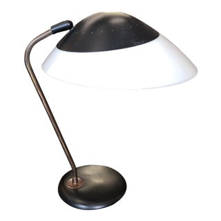 Mid-Century Modern Gerald Thurston for Lightolier Saucer Desk Lamp