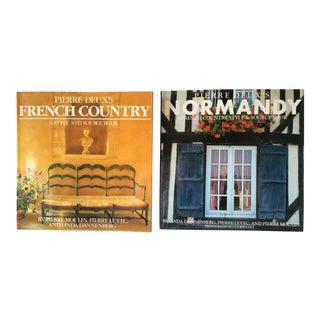Pierre Deux Normandy & Brittany Design Books - a Pair For Sale