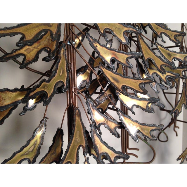 Curtis Jere Signed 1982 Alpine Trees Wall Sculpture - Image 10 of 11