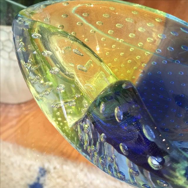 1960s Venini Murano Art Glass Ash Tray - Image 8 of 8