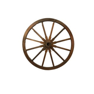 Rustic Wooden Wagon Wheel