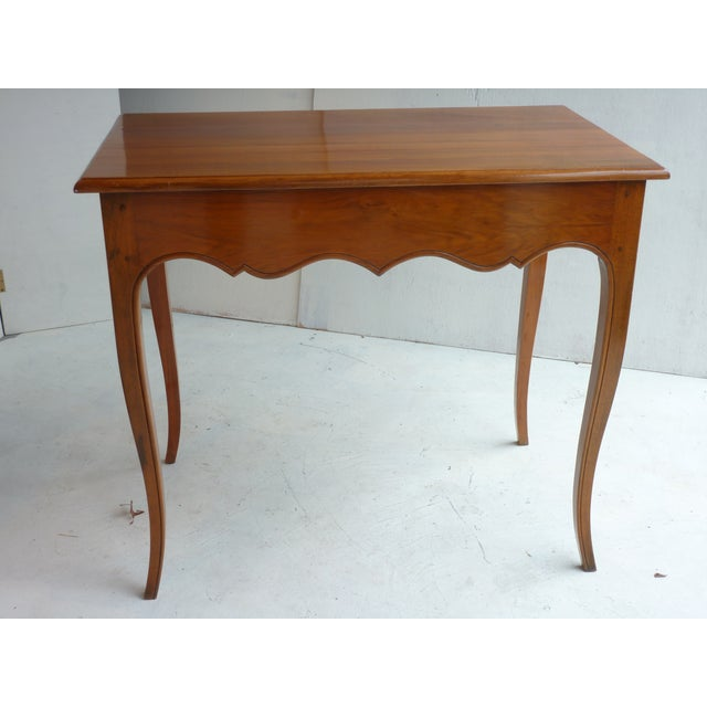 French Country Louis XV Style Side Table For Sale - Image 3 of 5