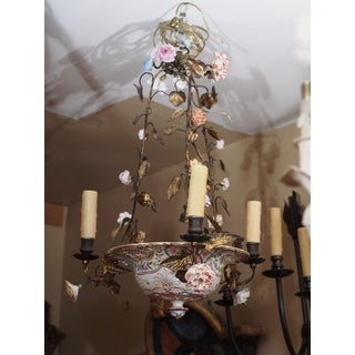 Antique French Porcelain Chandelier Preview
