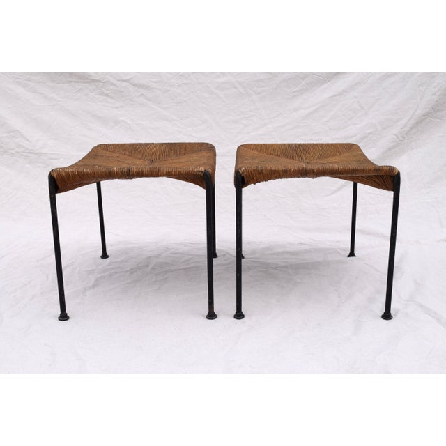Arthur Uminoff Iron Benches - a Pair - Image 5 of 11