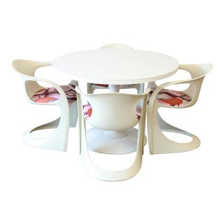 Casalino Tulip Dining Set by Alexander Begge for Casala, 1970s For Sale