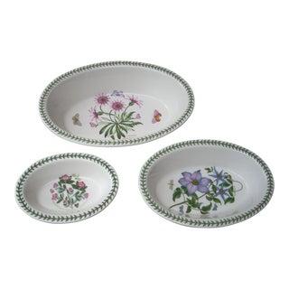 Portmeirion Botanical Oval Baking Dishes - Set of 3