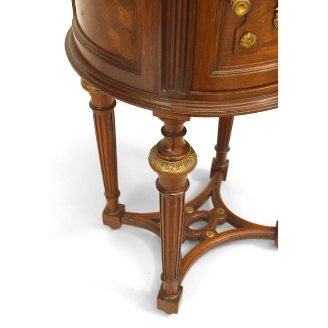 French Louis XVI Style Oval Bedside Commode For Sale In New York - Image 6 of 7