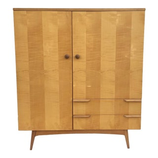Mid-Century Modern Highboy Armoire For Sale