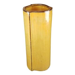 Terra Cotta Art Pottery Vase