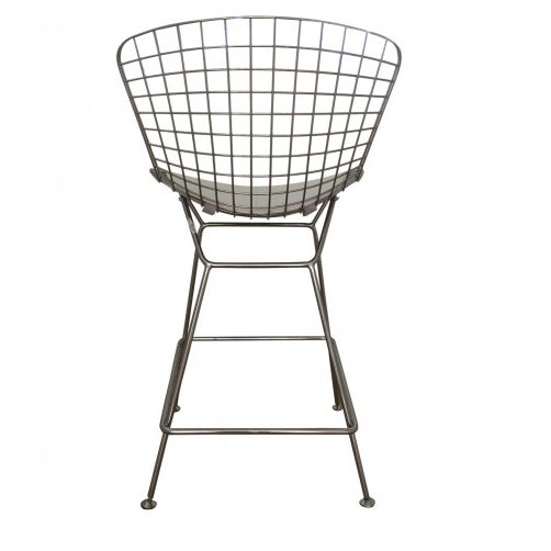 Bertoia-Style Wire Counter Stool - 5 Available - Image 6 of 7