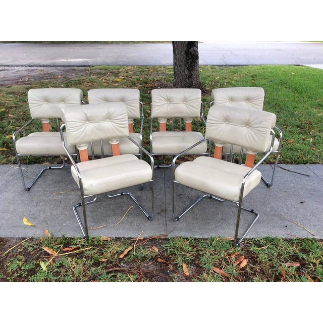 "Pace ""Tucroma"" Mariana for Pace Dining Chairs - Set of 6 For Sale - Image 4 of 12"