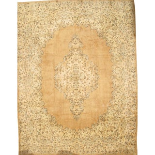 Pasargad N Y Persian Kerman Hand-Knotted Rug - 12′5″ × 16′5″ For Sale