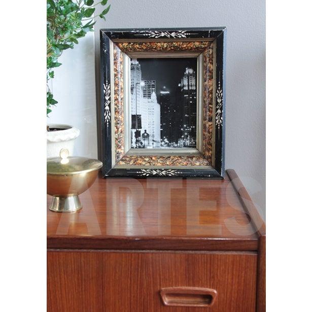 Antique American Ebonized Wood Frame - Image 5 of 5