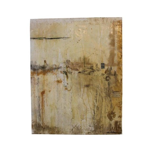 Life After Paris, Mixed Media Painting - Image 1 of 5