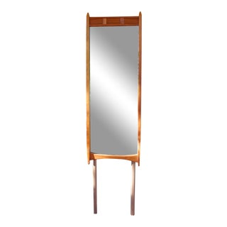 Merton Gershun for Dillingham Esprit Collection Teak Mirror For Sale