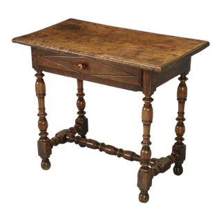 Antique Country French Side or End Table From the Early 1700s For Sale