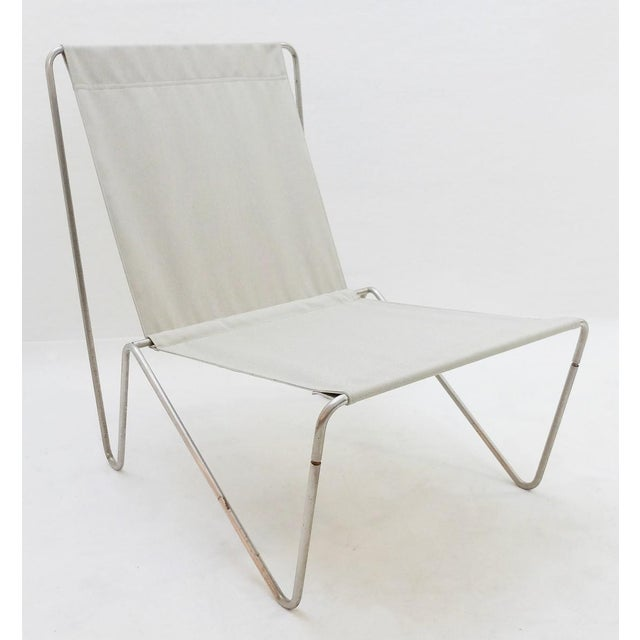 1960s Pair of Verner Panton Bachelor Chairs, 1960's - New Canvas For Sale - Image 5 of 9