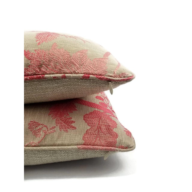 Not Yet Made - Made To Order Nina Campbell for Osborne Little Amazonas Self-Welt Backed Casamance Pillow Cover For Sale - Image 5 of 7