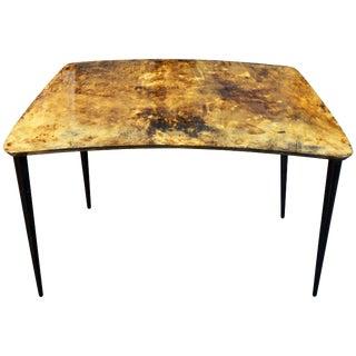 Mid-Century Italian Aldo Tura Lacquered Goatskin Occasional Table