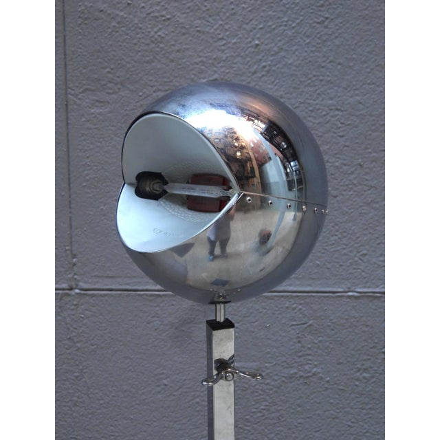 Silver Floor Lamp by Carlo Forcolini For Sale - Image 8 of 10