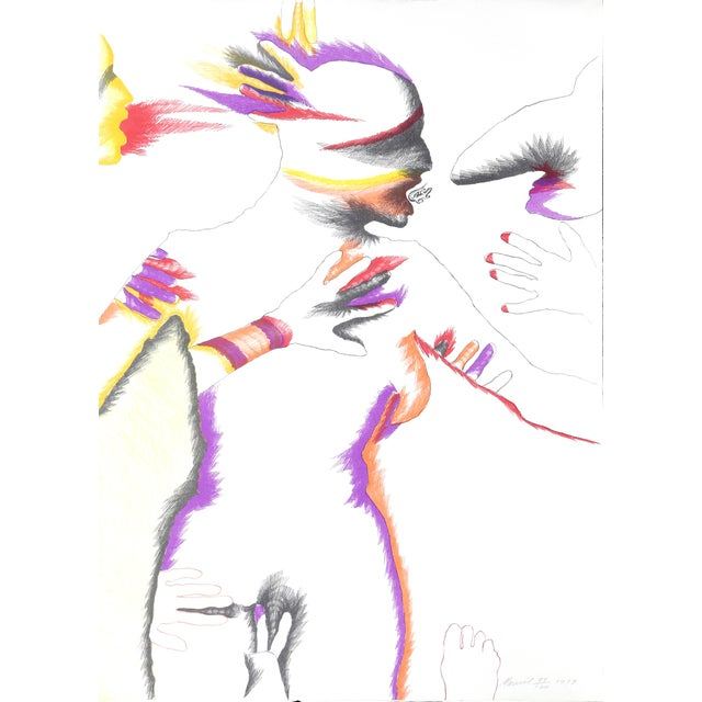 Marisol Escobar, Untitled, Lithograph For Sale