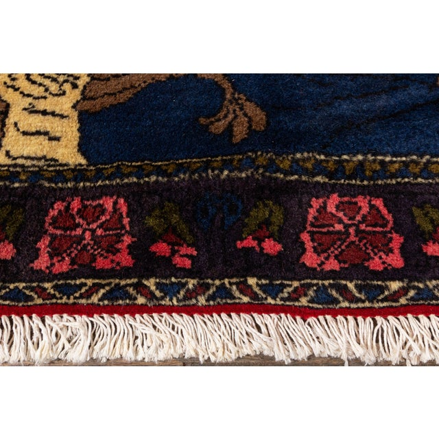 """Traditional Vintage Persian Rug, 2'2"""" X 3'4"""" For Sale - Image 3 of 6"""