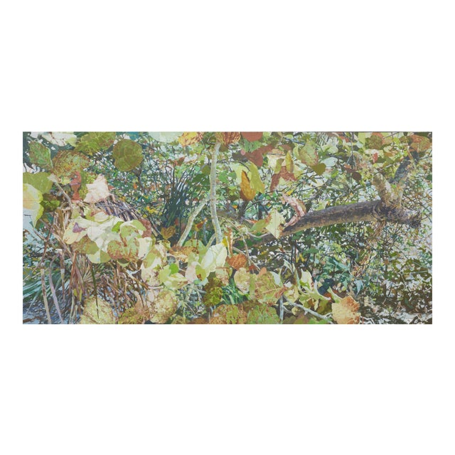 """Marsh Large Contemporary Landscape """"Sea Grapes Iii"""" For Sale"""
