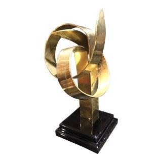 Contemporary Van Teal Brass Sculpture For Sale