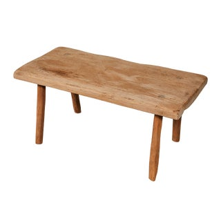 Small Rustic Table/Bench For Sale