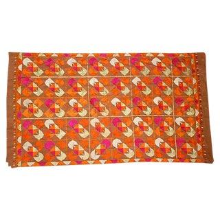 Vintage Phulkari Dowry Cloth For Sale