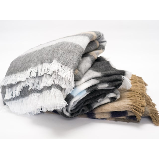 KVH by Kelly Van Halen's luxurious alpaca blanket. Size is large enough for bed cover, or oversized sofa throw. Rich...