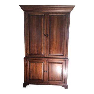 1990s Traditional Lexington Bob Timberlake Armoire Cabinet For Sale