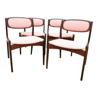 Ib Kofod Larsen Dining Chairs- Set of 4