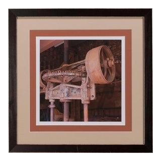 Industrial Pulley Giclee Print