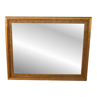Vintage Large 20th Century Giltwood Mirror For Sale